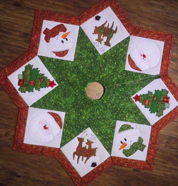 Покрывало под новогоднюю елку