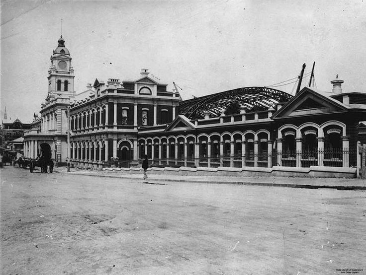 Central Railway Station, Brisbane, 1901