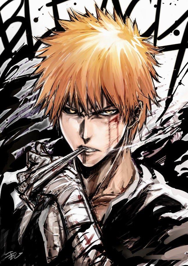 Ichigo Kurosaki Bleach Gg Anime Bleach Anime Manga Bleach Personagens De Anime