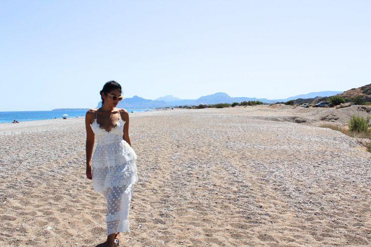Get the look for less: Kiki D's Self Portrait Lace Dress