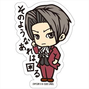 CAPCOM x B-SIDE LABEL Sticker Ace Attorney Mitsurugi (Anime Toy)
