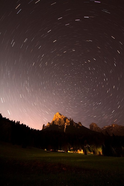 Night in Val Canali
