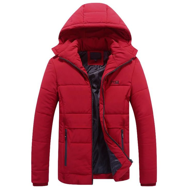 Casual Parkas Men Plus Size L-8XL Solid Brand Winter Jacket Men Hooded Thick Warn Coats Padded Overcoat Man Jaqueta Masculino