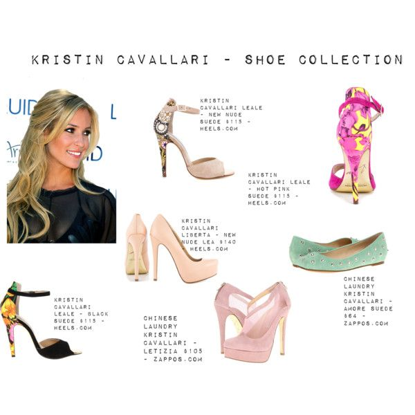 """""""Kristin Cavallari - Shoe Collection"""" by thewhiteboard on Polyvore"""