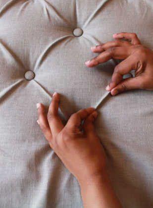 como hacer cabeceros de cama hacer pliegues