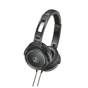 3. Audio Technica AUD ATHWS55BK – bass headphones