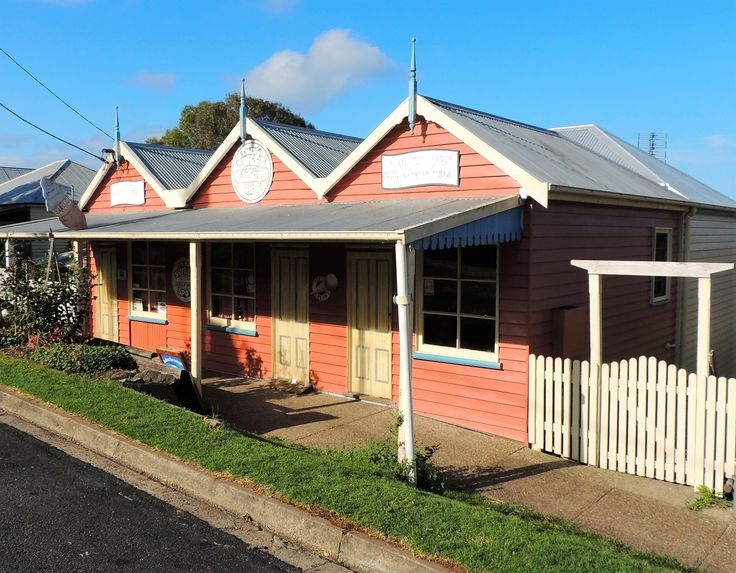 Every kid's dream place. The famous sweet shop of Central Tilba.