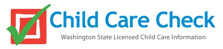 Washington State's Licensed Child Care Information System- forms
