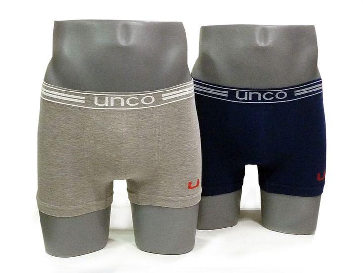 Pack compuesto por dos boxers sin costuras para hombre fabricados en una sola pieza y confeccionados en algodón transpirable, suave y muy elástico. ¡EXCELENTE CALIDAD!