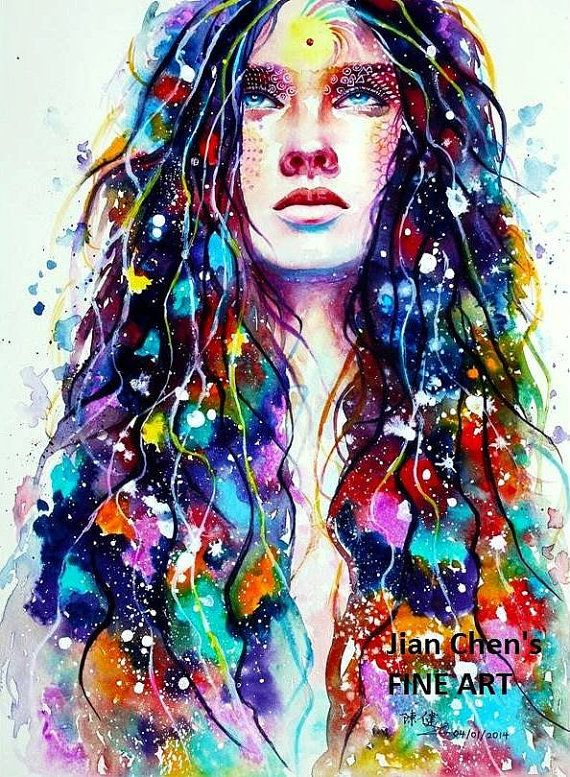 Evolving by JianChensFINEART on Etsy