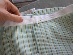 (sewing elastic without a casing.) male pattern boldness: MPB Men's Boxers Sew-Along 5 -- Crossing the Finish Line!