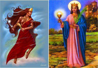 Cada um dos 16 orixás - as entidades cultuadas no candomblé e na umbanda - corresponde a um ou mais santos católicos. Dá para explicar essa ...