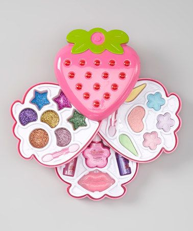 Loving this Strawberry Cosmetic Set on #zulily! #zulilyfinds