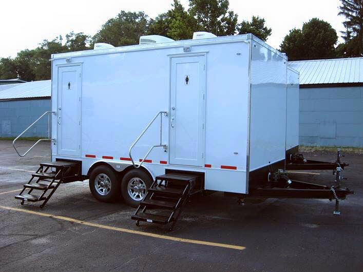 15u0027 Restroom Trailer  Key West 5 Station $1100.00 Restroom Trailer Rental  Cincinnati Ohio,
