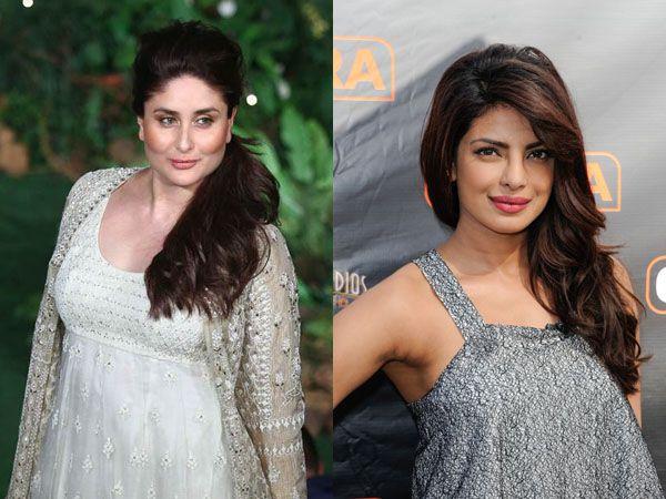 Kareena Kapoor Khan reacts to Priyanka Chopra's statement on Taimur having a pout