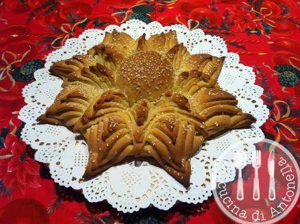 Centrotavola Stella di Natale di pane (con istruzioni dettagliate per la realizzazione)