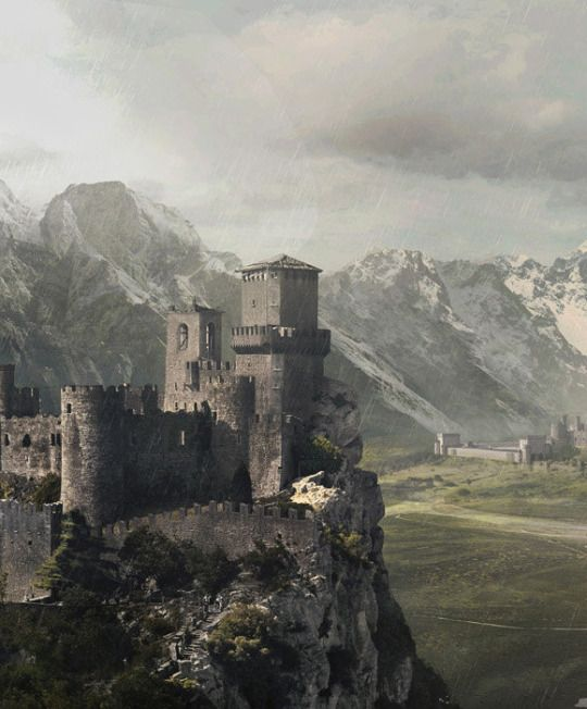 At the foothills of the east Giants mountains lies the great castle Arradnor and nearby its watch tower Tiryn with a great view of surrounding roads and terrain.