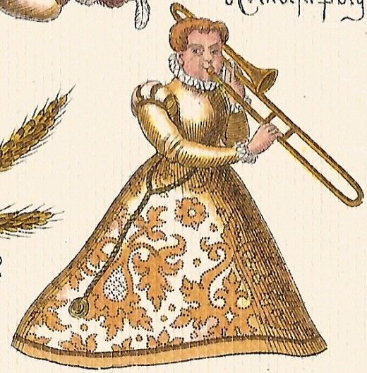 Women in Trombone History, 1500-1900