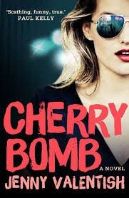 """""""In Valentish's debut novel the long-time muso and music journalist has created a heroine difficult to love, and impossible not to, and sets her careering from one success to another as she simultaneously calls disaster after disaster to rain down upon herself. Cherry Bomb follows the girls through their late teens and first two albums, and it's a gripping rollercoaster ride of a read that lays bare a lot of the disturbing realities of the Australian music business."""" 100% Rock Magazine"""