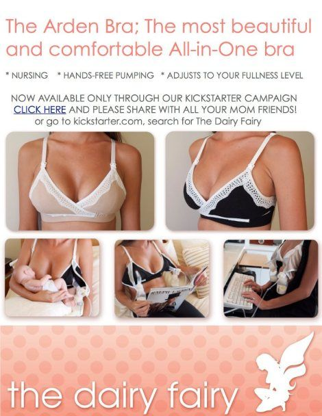 One of the, if not THE best pumping and nursing bras around, the Arden Bra by @The Dairy Fairy