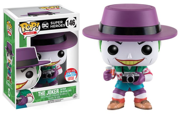Pop! Heroes - The Joker (Batman: The Killing Joke)