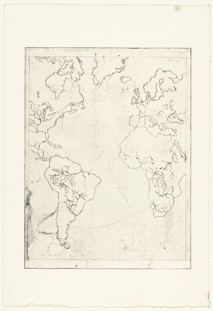Louise Bourgeois. Map of the Western Hemisphere. 1996