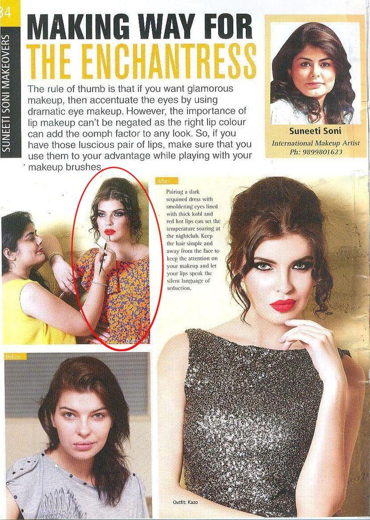 Making Way For The Enchantress.   YELL got featured in Ravishing!