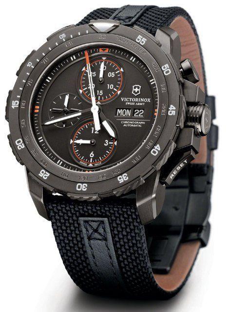 5a83b6b83a12 Victorinox Swiss Army Alpnach Black Ice Chronograph Relojes deportivos   SportWatches  Trindu