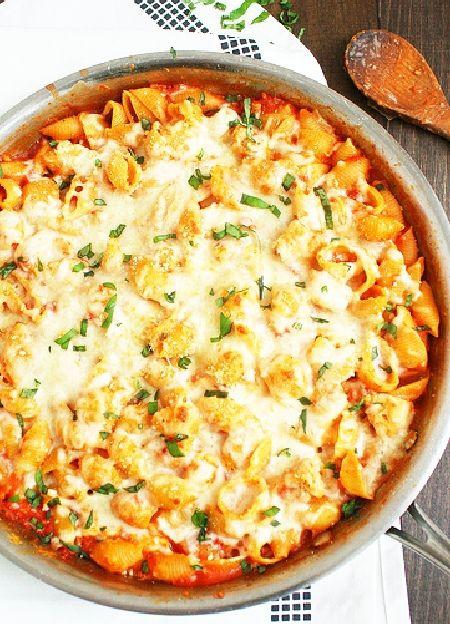 Low FODMAP & Gluten free Recipe - Chicken pasta bake