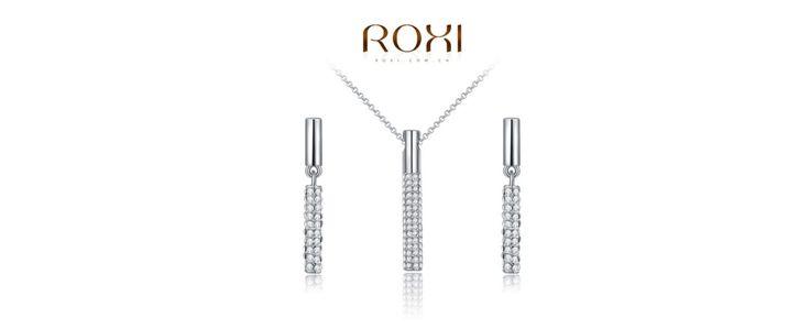 ROXI kristály ragyogás ékszer szett.
