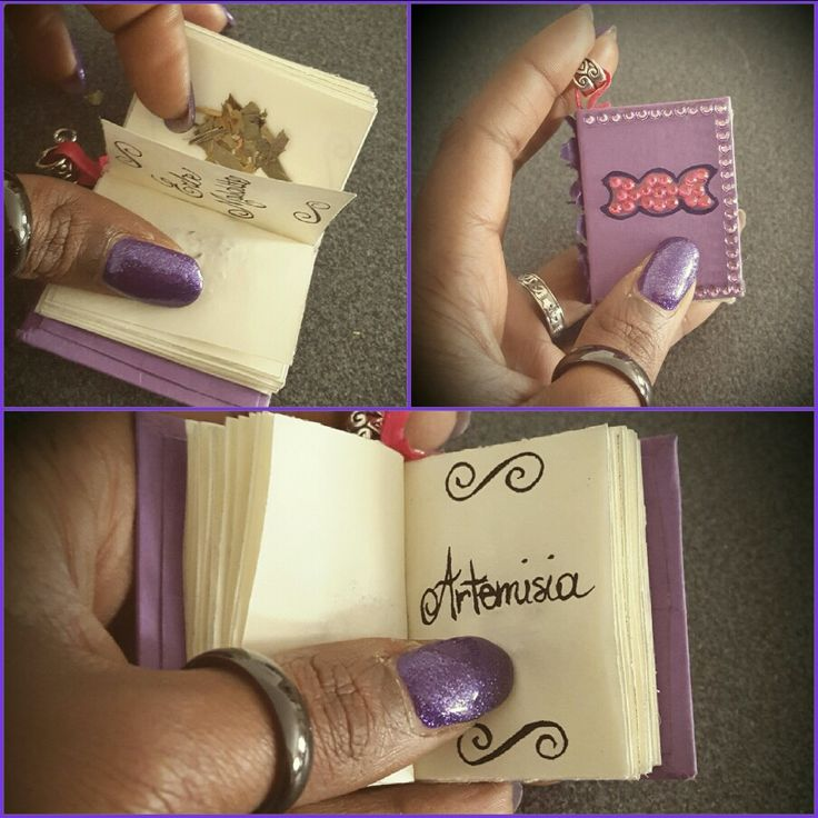 Mini book triplice dea+ herbarium