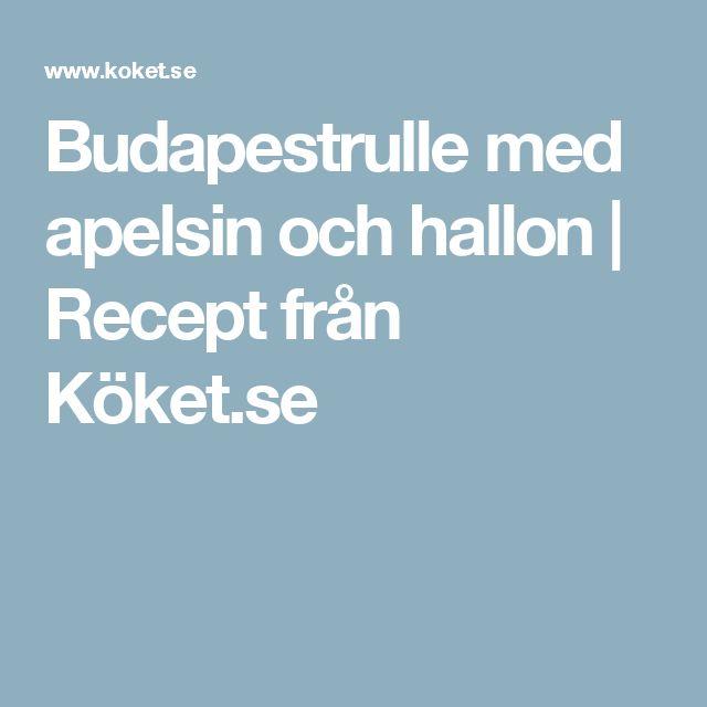 Budapestrulle med apelsin och hallon | Recept från Köket.se