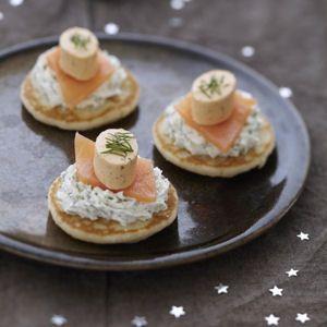 Le grand marathon des fêtes a commencé. Voici une sélection de bouchées raffinées qui mettra en appétit vos proches avant le repas de Noël ou de la Saint-Sylvestre !