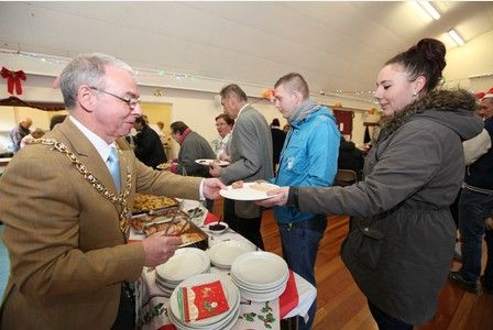 A roaring fire, stuffed turkey, trimmings and loads of gravy – that is a normal Christmas meal for any family.  Cheltenham Open Door, a charity for the homeless in the town, welcomed dozens of...