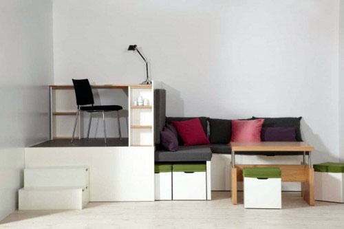 Multipurpose Furniture For A Small Space