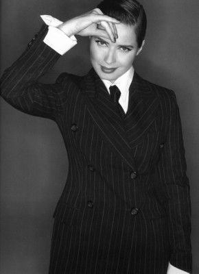Sophisticated...Isabella Rossellini, Actress, Filmmaker, Author and Model.