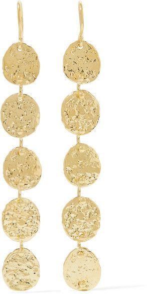 Jennifer Meyer - 18-karat Gold Earrings - one size