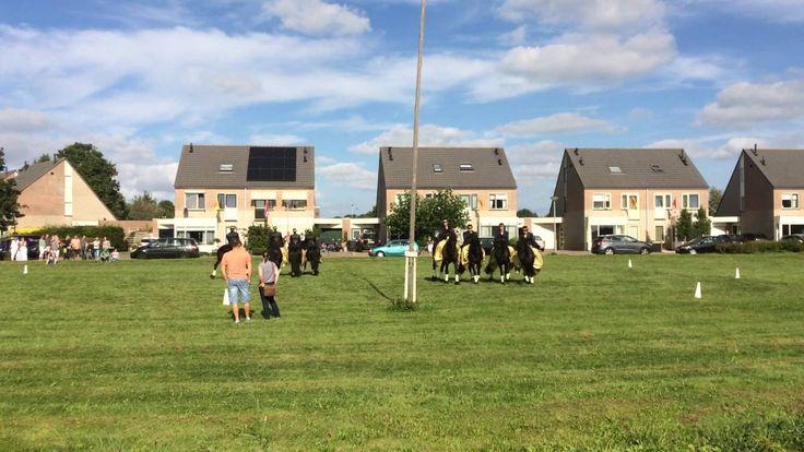 Paardenshow tijdens Foralia 2016 in Nieuwe Niedorp