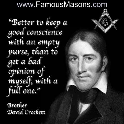 David Crockett | Famous Masons