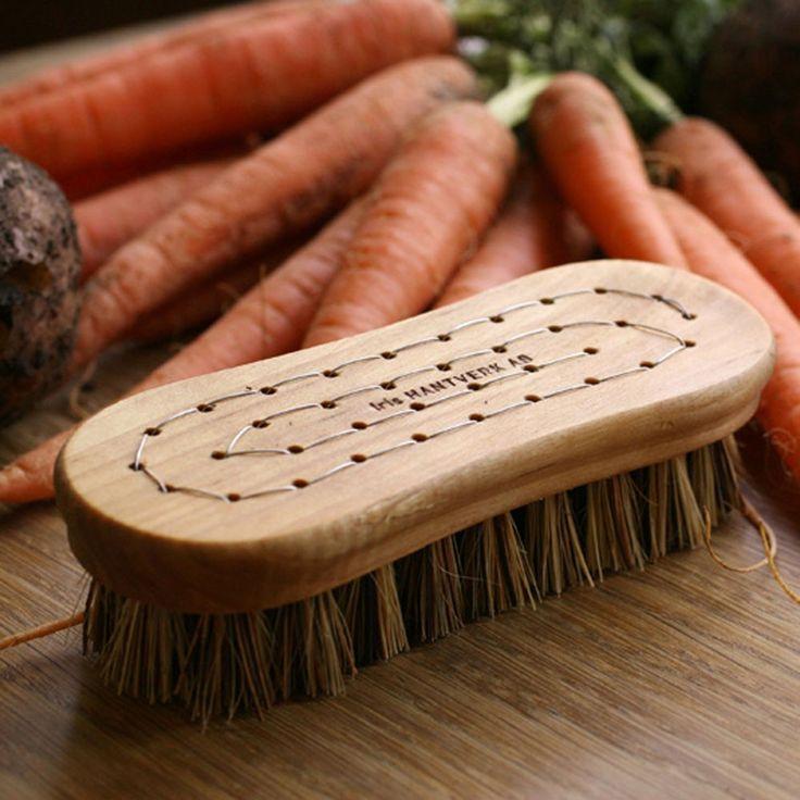 Vegetable Brush | Birch Wood Veggie Brush
