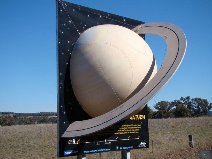 Big Saturn, Coonabarabran NSW