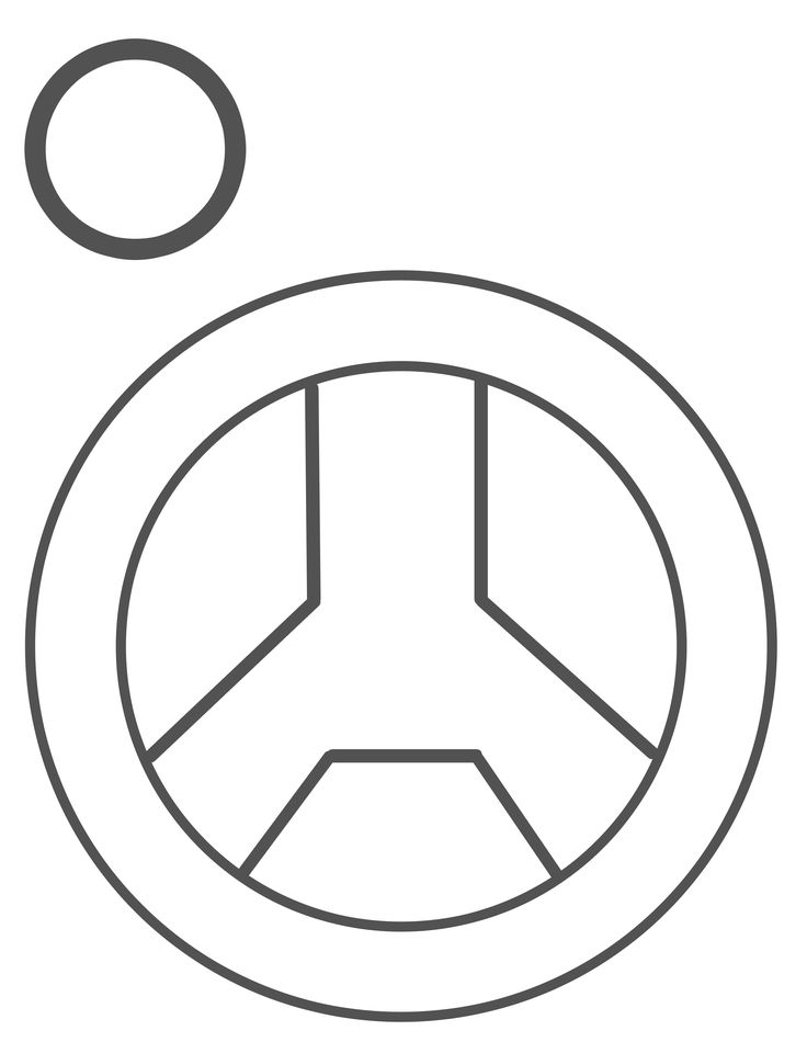 Steering Wheel Template that you can use w/ paper plates