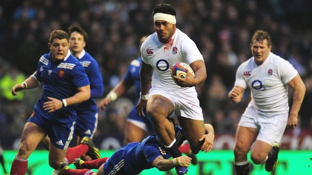 Sorry France but - England 23-13 France!