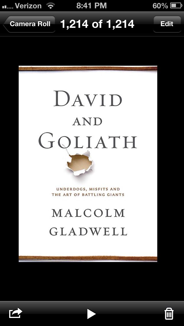 When I was younger I wanted to be Matt Chandler, then it was Idris Elba or Bill Simmons. Currently it's Malcolm Gladwell.