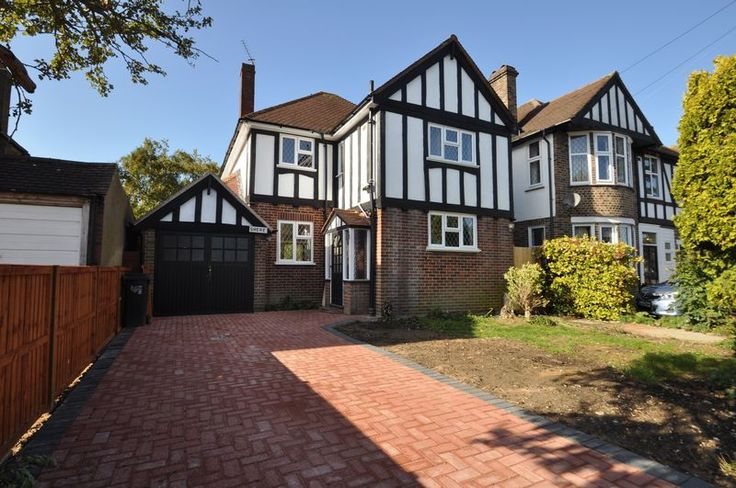 http://www.parryanddrewett.com/  Parry & Drewett are pleased to offer an immaculate 4 bedroom detached Tudor style family home with wooden flooring throughout situated on a sought after road close to popular Church Road.  338 Hook Road, Chessington, Surrey,  KT9 1NU