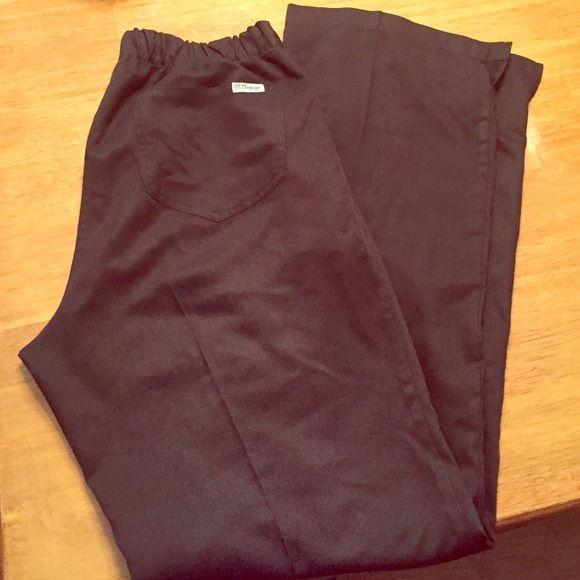 Greys Anatomy scrub pants Worn only a few times and had dry cleaned. BLACK Greys Anatomy scrub pant! No damage! Pants