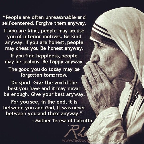 Quote From Mother Teresa: 250 Best Images About FAITH