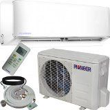 Pioneer Air Conditioner Inverter+ Ductless Wall Mount Mini Split System Air Conditioner & Heat Pump Full Set, 12000 BTU 230V