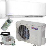 Pioneer Air Conditioner Inverter+ Ductless Wall Mount Mini Split System Air Conditioner & Heat Pump Full Set, 12000 BTU 230V