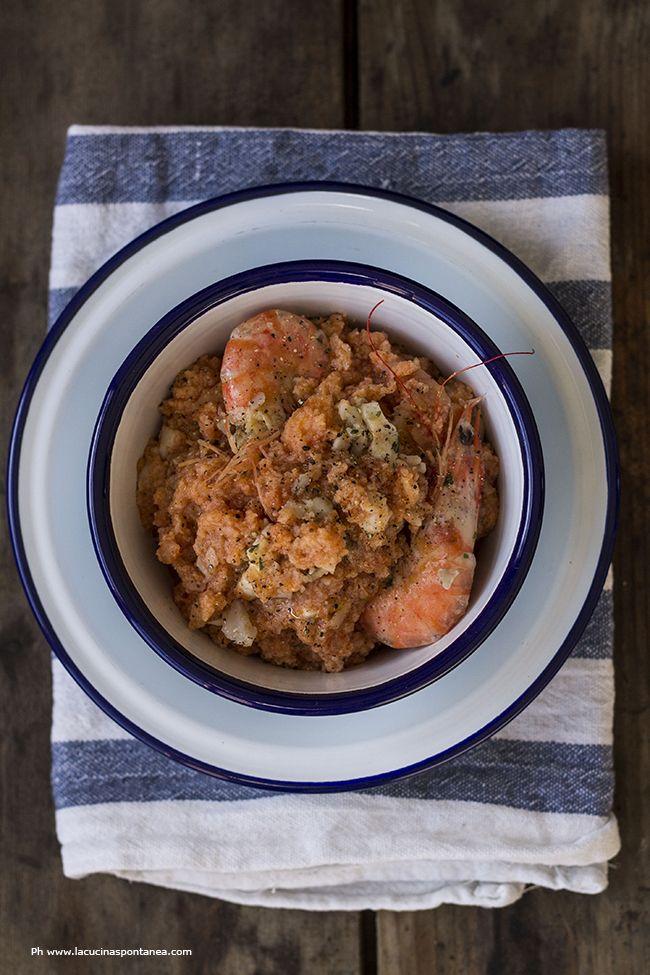 Pappa al pomodoro di mare #recipe #food #foodie